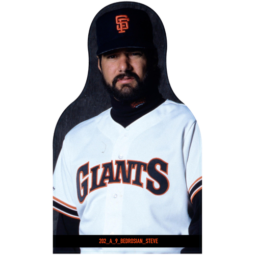 Photo of Giants Community Fund: Giants Steve Bedrosian Cutout