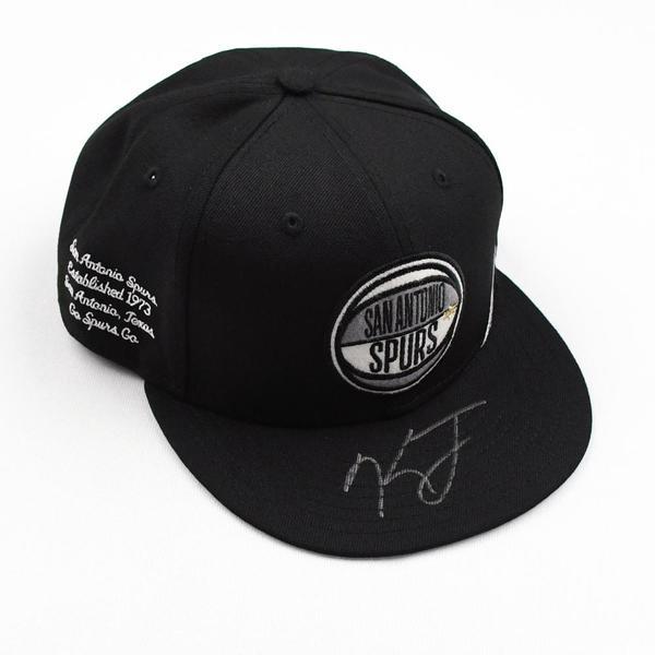 Image of Keldon Johnson - San Antonio Spurs - 2019 NBA Draft Class - Autographed Hat