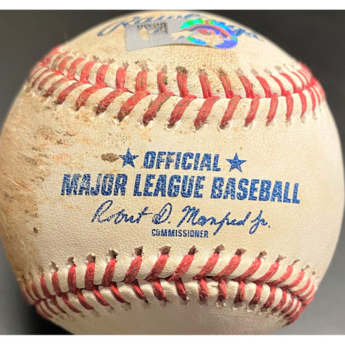 Photo of Game-Used Baseball: Craig Kimbrel Chicago Cubs Strikeout (MLB AUTHENTICATED)