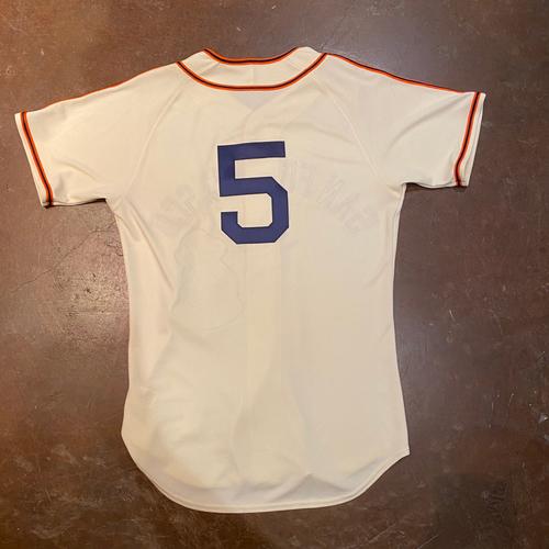 Photo of 2021 Game Used San Francisco Sea Lions Negro League Throwback Uniform - #5 Mike Yastrzemski - Size 42