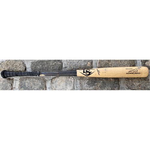 Photo of Pat Valaika: Broken Bat - Game Used (9/21/21 vs. Phillies)