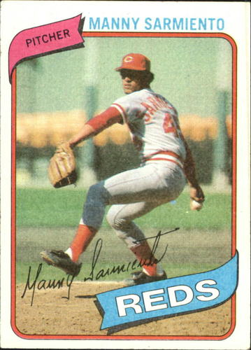 Photo of 1980 Topps #21 Manny Sarmiento