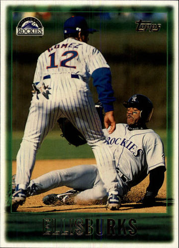 Photo of 1997 Topps #146 Ellis Burks