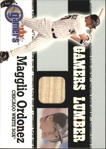 Photo of 2000 Fleer Gamers Lumber #34 Magglio Ordonez