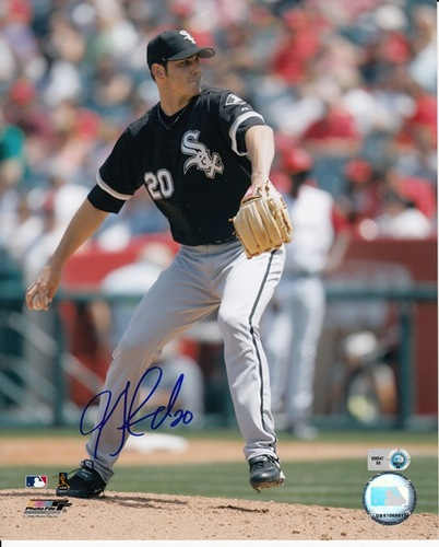 Photo of Jon Garland Autographed 8x10