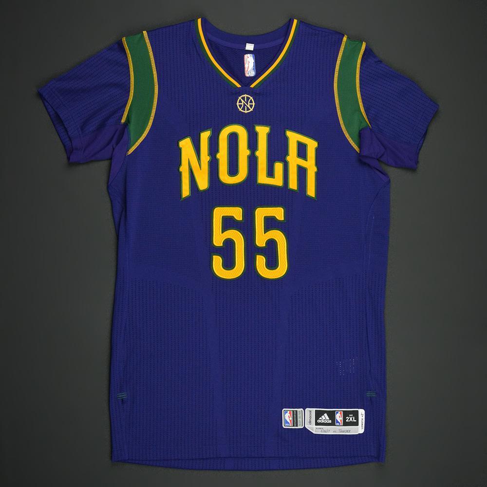 timeless design 00fac d295e E'Twaun Moore - New Orleans Pelicans - Purple 'Mardi Gras ...