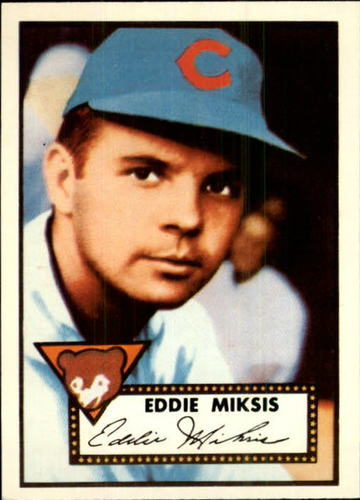 Photo of 1983 Topps 1952 Reprint #172 Eddie Miksis