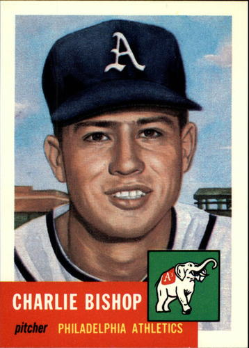 Photo of 1991 Topps Archives 1953 #186 Charlie Bishop