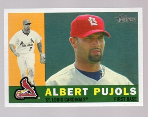 Photo of 2009 Topps Heritage #250a Albert Pujols