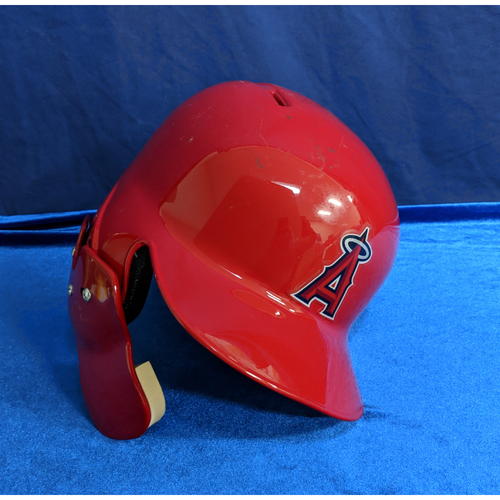 Photo of Shohei Ohtani 2018 Team-Issued Helmet