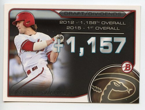 Photo of 2015 Bowman Draft Draft Dividends #DDDS Dansby Swanson