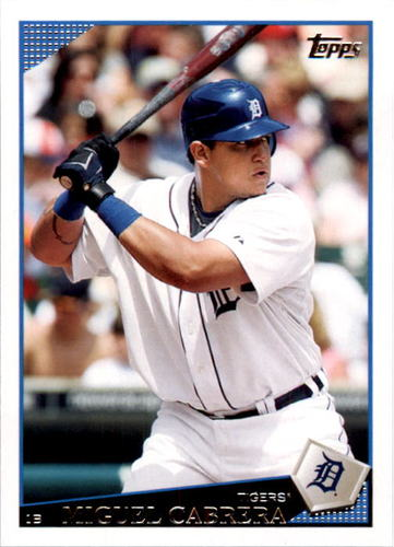 Photo of 2009 Topps #320a Miguel Cabrera