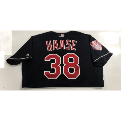 Eric Haase Game Used 2019 Spring Training Jersey