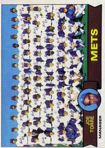 Photo of 1979 Topps #82 New York Mets CL/Joe Torre MG