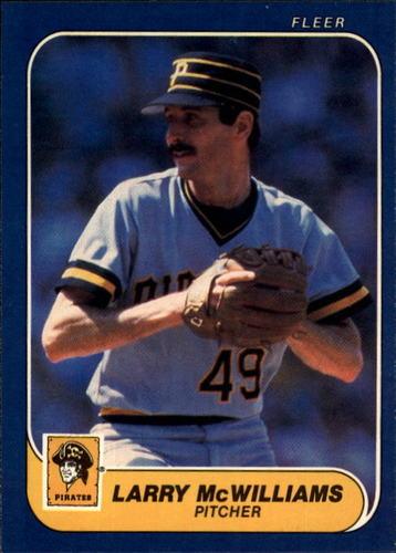 Photo of 1986 Fleer #613 Larry McWilliams