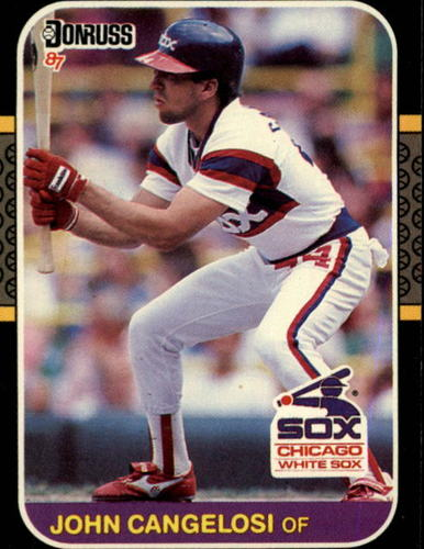 Photo of 1987 Donruss #162 John Cangelosi