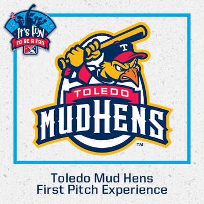 2021 Toledo Mud Hens First Pitch Experience