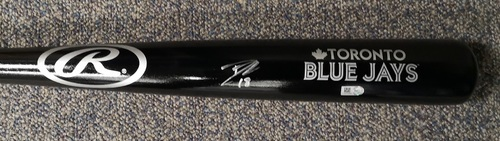 Photo of Autographed Dwight Smith Jr. Bat