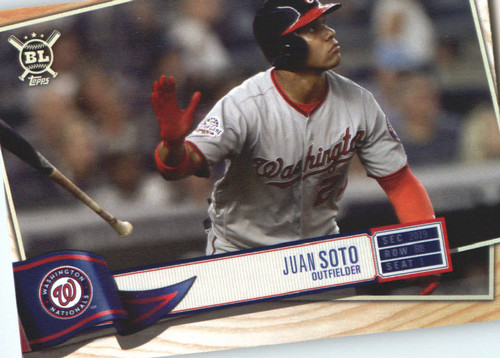 Photo of 2019 Topps Big League #125 Juan Soto