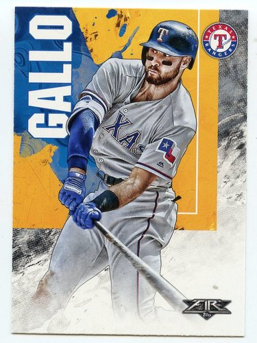 Photo of 2019 Topps Fire #140 Joey Gallo