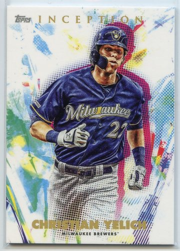 Photo of 2020 Topps Inception #50 Christian Yelich