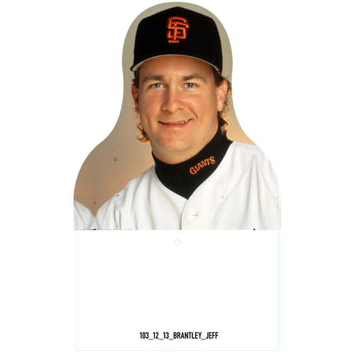 Photo of Giants Community Fund: Giants Jeff Brantley Cutout