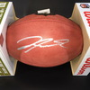 NFL - STEELERS WR JAYLEN SAMUELS SIGNED AUTHENTIC 'DUKE' FOOTBALL