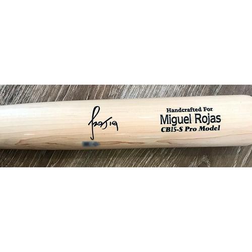 Photo of UMPS CARE AUCTION: Miguel Rojas Signed Bat