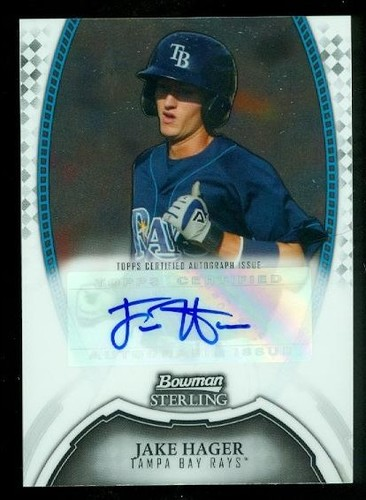 Photo of 2011 Bowman Sterling Prospect Autographs #JH Jake Hager