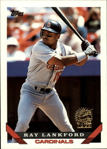 Photo of 1993 Topps Inaugural Marlins #386 Ray Lankford