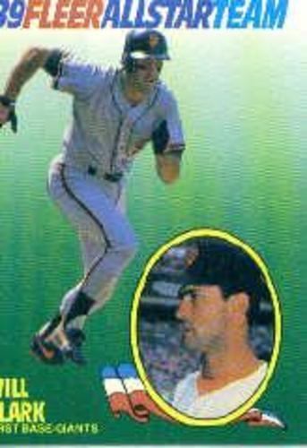 Photo of 1989 Fleer All-Stars #3 Will Clark