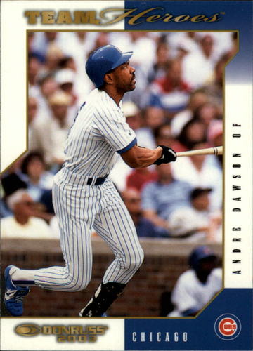 Photo of 2003 Donruss Team Heroes Glossy #104 Andre Dawson Cubs