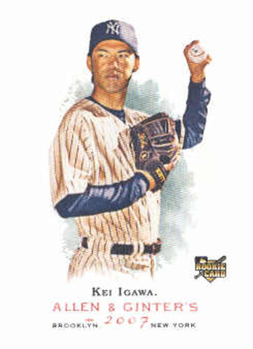 Photo of 2007 Topps Allen and Ginter #14 Kei Igawa RC