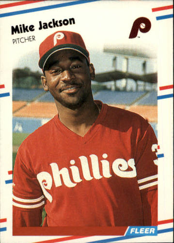 Photo of 1988 Fleer #306 Mike Jackson RC