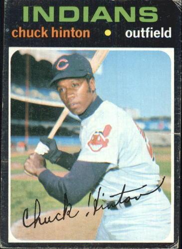 Photo of 1971 Topps #429 Chuck Hinton