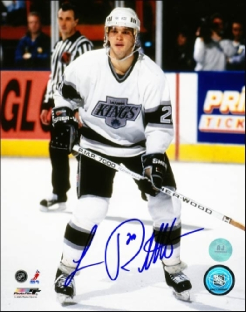 LUC ROBITAILLE Los Angeles Kings SIGNED 8x10 Photo