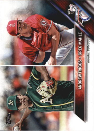 Photo of 2016 Topps Update #US63 Greg Mahle RC/Andrew Triggs RC
