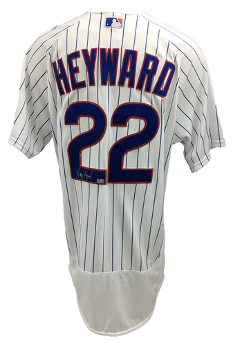 Photo of Jason Heyward Autographed Jersey: Size - 48