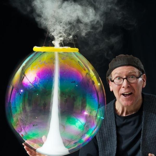Photo of The Amazing Bubble Man - Underbelly at The Edinburgh Fringe