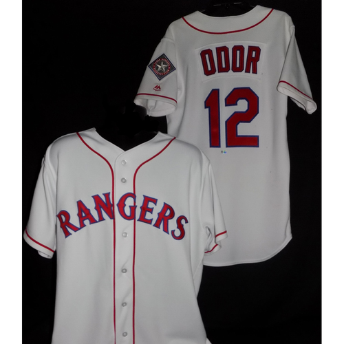 Rougned Odor 2017 Game-Used Jersey