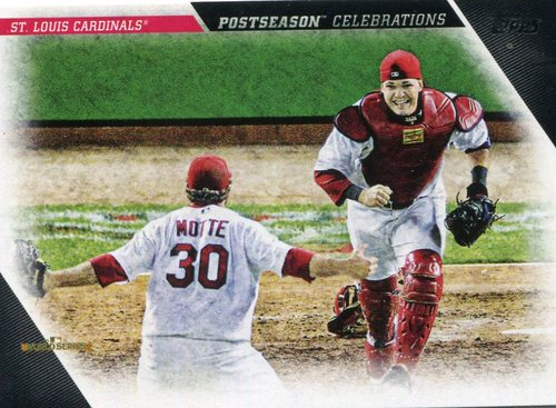 Photo of 2017 Topps Update Postseason Celebration #PC7 St. Louis Cardinals
