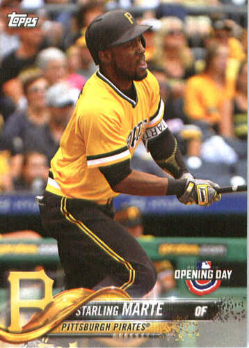 Photo of 2018 Topps Opening Day #84 Starling Marte