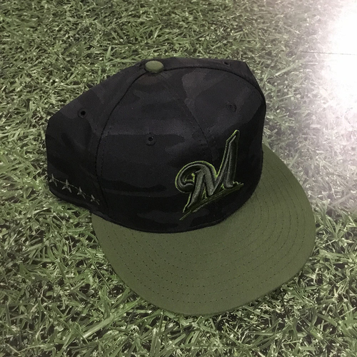 Photo of Wade Miley Team-Issued 2018 Memorial Day Cap