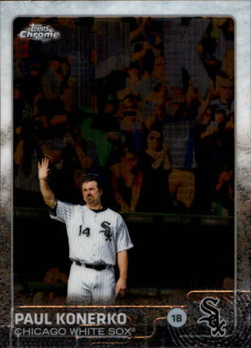 Photo of 2015 Topps Chrome #14 Paul Konerko