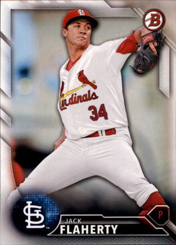 Photo of 2016 Bowman Draft #BD192 Jack Flaherty