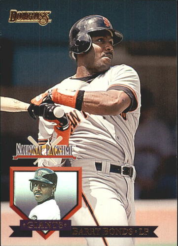 Photo of 1995 National Packtime #7 Barry Bonds