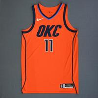 Abdel Nader - Oklahoma City Thunder - Game-Worn Earned Statement Edition Jersey - 2018-19 Season
