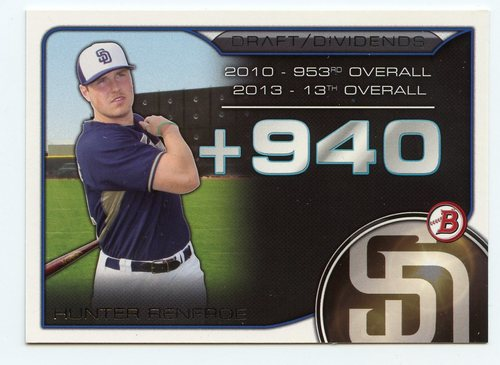 Photo of 2015 Bowman Draft Draft Dividends #DDHR Hunter Renfroe