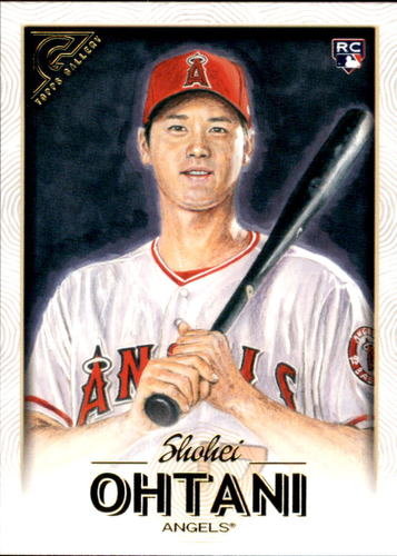 Photo of 2018 Topps Gallery #116 Shohei Ohtani Rookie Card