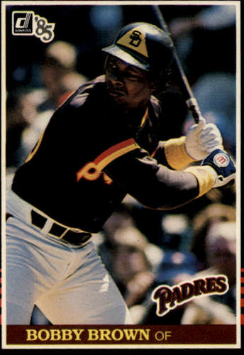 Photo of 1985 Donruss #383 Bobby Brown